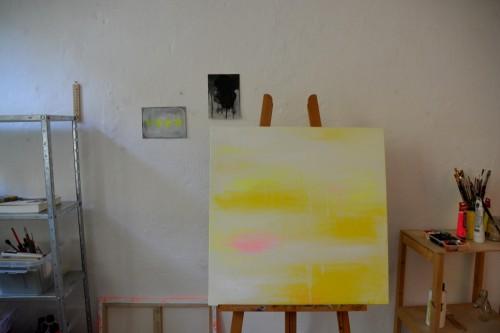 neustart in gelb